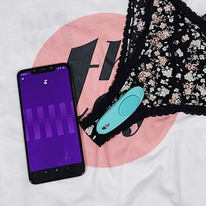 We-Vibe Moxie remote controlled vibrating panties