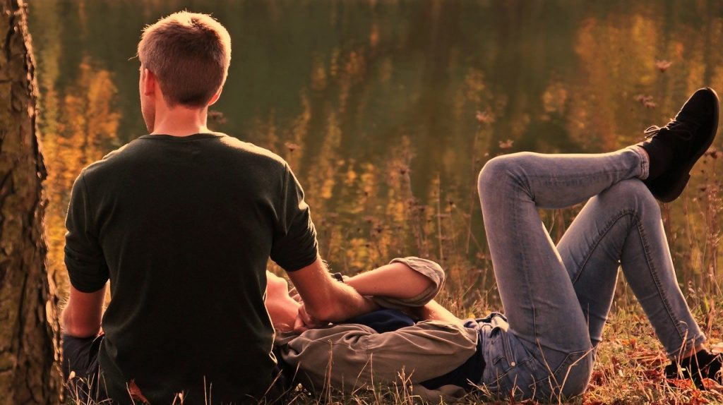Make your partner feel comfortable
